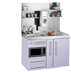 Compact Residential And Commercial Mini Kitchens And Kitchenettes